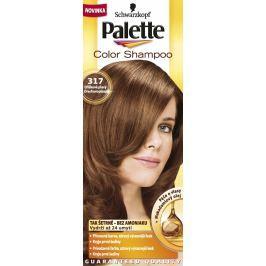 Schwarzkopf Palette Color Shampoo tónovací barva na vlasy 317 - Oříškově plavý