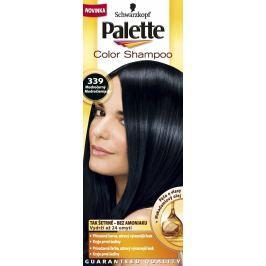 Schwarzkopf Palette Color Shampoo tónovací barva na vlasy 339 - Modročerný