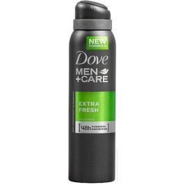 Dove Men + Care Extra Fresh 48 h antiperspirant deodorant sprej pro muže 150 ml
