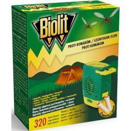 Biolit Proti komárům elektrický odpařovač na baterie 1 kus + baterie 2 kusy
