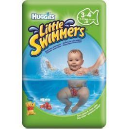 Huggies Little Swimmers 3-4 jednorázové pleny do vody 7-15 kg 12 kusů