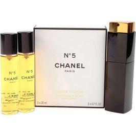 Chanel No.5 toaletní voda komplet pro ženy 3 x 20 ml