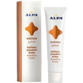 Alpa Kaštan bylinný masážní krém 40 g Masážní přípravky