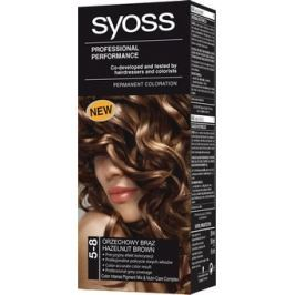 Syoss Professional barva na vlasy 5 - 8 oříškově hnědý