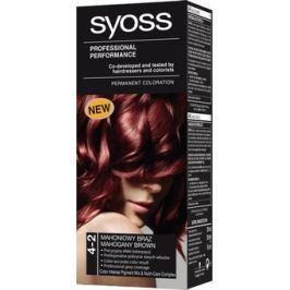 Syoss Professional barva na vlasy 4 - 2 mahagonově hnědý