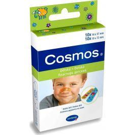 Cosmos Kids Náplasti na rány 20 kusů 2 velikosti