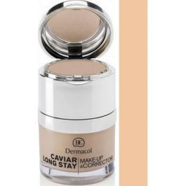 Dermacol Caviar Long Stay Make-Up & Corrector make-up s kaviárem a zdokonalovací korektor 01 Pale 30 ml