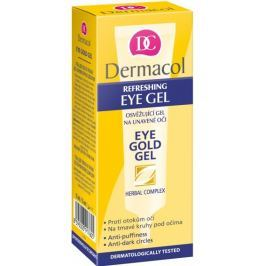 Dermacol Eye Gold Gel oční gel na unavené oči 15 ml