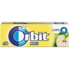 Wrigleys Orbit Jablko žvýkačky bez cukru ovocné dražé 10 kusů 14 g