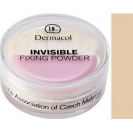 Dermacol Invisible Fixing Powder pudr odstín Natural 13,5 g