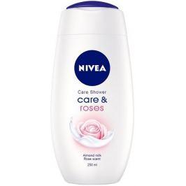Nivea Care & Roses pečující sprchový gel 250 ml