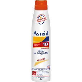 Astrid F10 Mléko na opalování 200 ml sprej