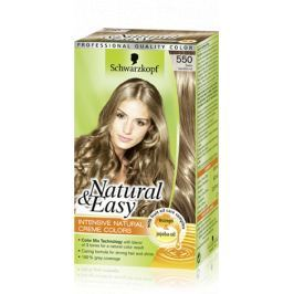Schwarzkopf Natural & Easy barva na vlasy 550 Tmavě plavý satén