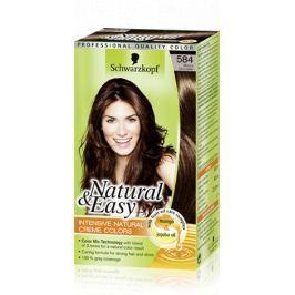 Schwarzkopf Natural & Easy barva na vlasy 584 Moka čokoláda Drogerie