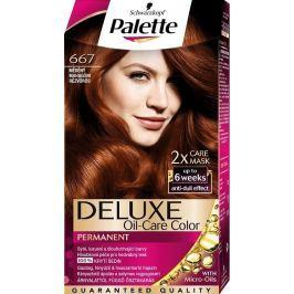 Schwarzkopf Palette Deluxe barva na vlasy 667 Měděná 115 ml