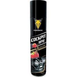 Coyote Cocpit Lesní plody antistatický, čistí a ošetřuje plast, kůži, gumu, dřevo, koženku v interiéru vozidla 400 ml sprej