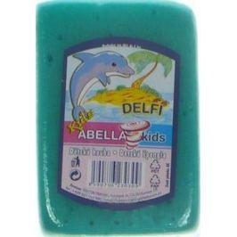 Abella Kids Delfi koupelová houba 11 x 7 x 4 cm různé barvy 1 kus