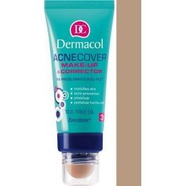 Dermacol Acnecover make-up & Corrector make-up a korektor 04 odstín 30 ml + 3 g