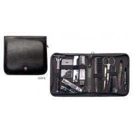 Kellermann 3 Swords Luxusní manikúra Artical Leather Travelling Kit 12 dílů