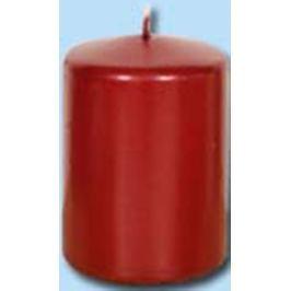 Lima Svíčka hladká metal červená válec 60 x 120 mm 1 kus