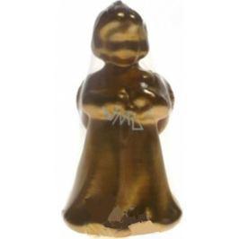 Lima Andělíček malý svíčka zlatá 80 mm 1 kus