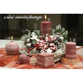 Lima Wellness Vánoční fantazie aroma svíčka koule průměr 60 mm