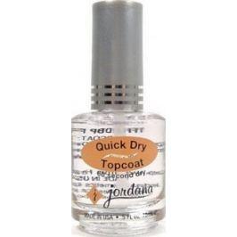 Jordana Lak na nehty rychle sušící Quick Dry Topcoat 406 15 ml Drogerie