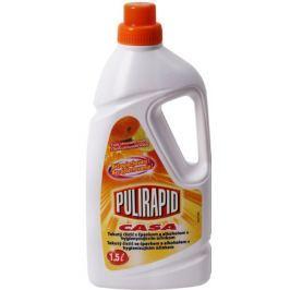 Pulirapid Casa Agrumi s vůní citrusového ovoce univerzální tekutý čistič se čpavkem a alkoholem na všechny domácí omyvatelné povrchy 1,5 l