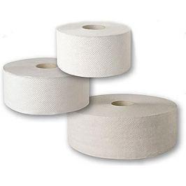 Jumbo 280 toaletní papír do zásobníků 1 vrstvý 1 role Toaletní papír
