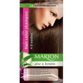 Marion tónovací šampon 58 Středně hnědá 40 ml Drogerie