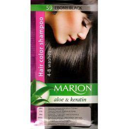 Marion Tónovací šampon 59 Ebenově černá 40 ml Drogerie