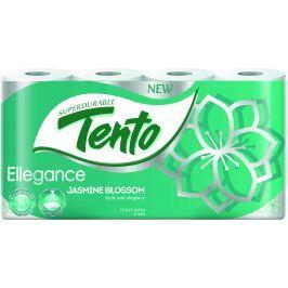 Tento Ellegance Botanic parfémovaný toaletní papír 3 vrstvý 150 útržků 8 kusů