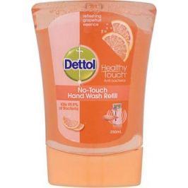 Dettol Grapefruit antibakteriální mýdlo do bezdotykového dávkovače náhradní náplň 250 ml Mýdla