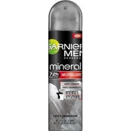 Garnier Men Invisible Black White Colors antiperspirant deodorant sprej pro muže 150 ml