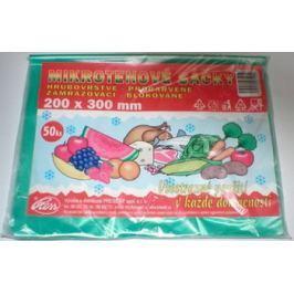 Press Mikrotenové sáčky 20 x 30 cm 50 kusů Pytle na odpadky