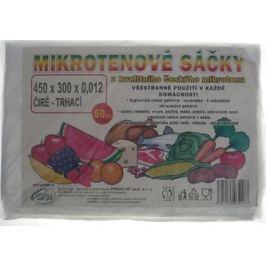 Press Mikrotenové sáčky trhací čiré 45 x 30 cm 50 kusů Pytle na odpadky