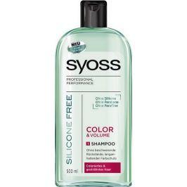 Syoss Color & Volume Silicone Free šampon na vlasy bez silikonů 500 ml Šampony