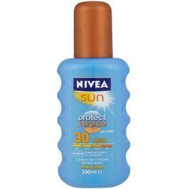 Nivea Sun Protect & Bronze SPF30+ intenzivní sprej na opalování High 200 ml Drogerie