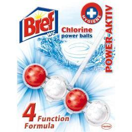Bref Power Aktiv 4 Formula Chlorine WC blok 51 g Čistící prostředky na WC
