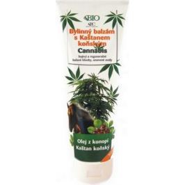 Bione Cosmetics Cannabis bylinný balzám s kaštanem koňským 300 ml Masážní přípravky