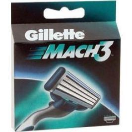 Gillette Mach 3 náhradní hlavice 2 ks Příslušenství k holicím strojkům