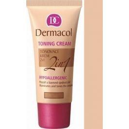 Dermacol Toning Cream 2v1 make-up Biscuit 30 ml