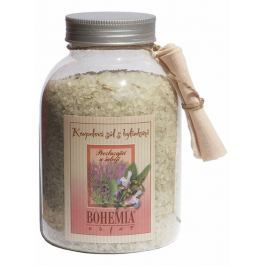 Bohemia Gifts & Cosmetics Šalvěj s bylinkami povzbuzující sůl do koupele 1,2 kg