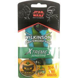 Wilkinson Xtreme 3 Sensitive holící strojek jednorázový 3 břity 4 kusy