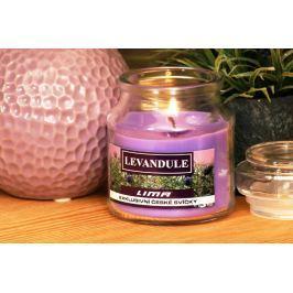 Lima Aroma Dreams Levandule aromatická svíčka sklenička s víčkem 120 g