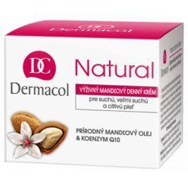 Dermacol Natural Výživný mandlový denní krém 50 ml pro suchou a citlivou pleť Drogerie