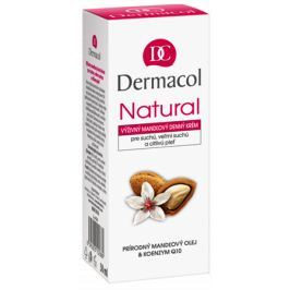 Dermacol Natural Výživný mandlový denní krém v tubě 50 ml suchá a citlivá pleť