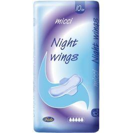 Micci Night Wings intimní vložky s křidélky 10 kusů