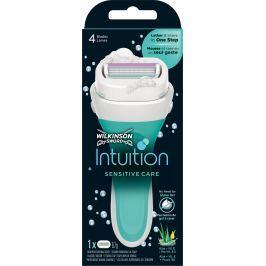 Wilkinson Intuition Sensitive Care holící strojek a náhradní hlavice 1 kus