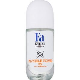 Fa Men Xtreme Invisible Power kuličkový antiperspirant deodorant roll-on pro muže 50 ml